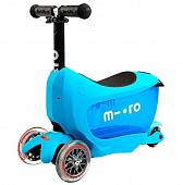 Самокат Micro Mini 2GO Deluxe Blue (ММD030)